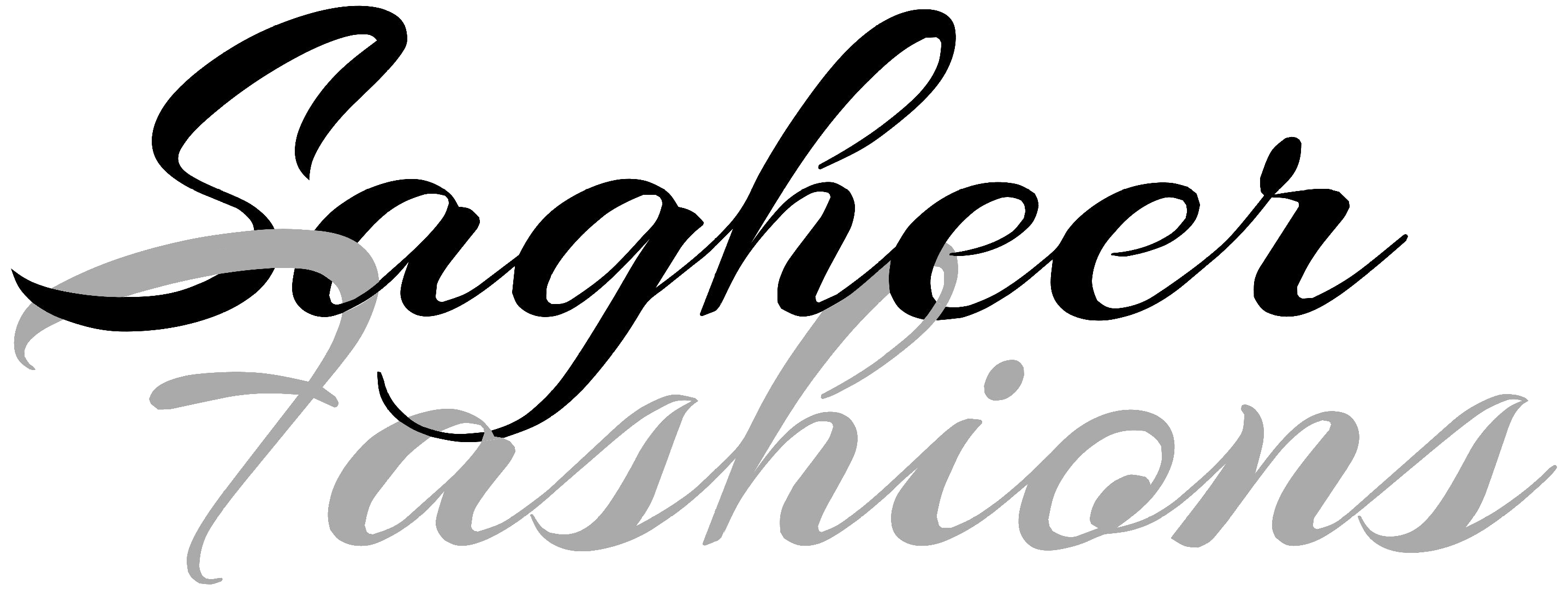 Sagheer Fashions Logo Big